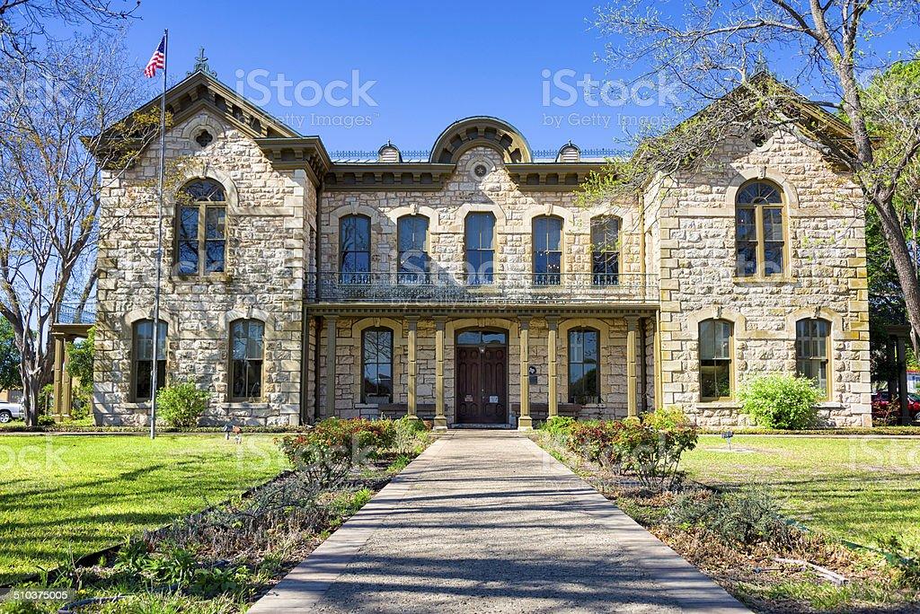 Fredericksburg Memorial Library stock photo