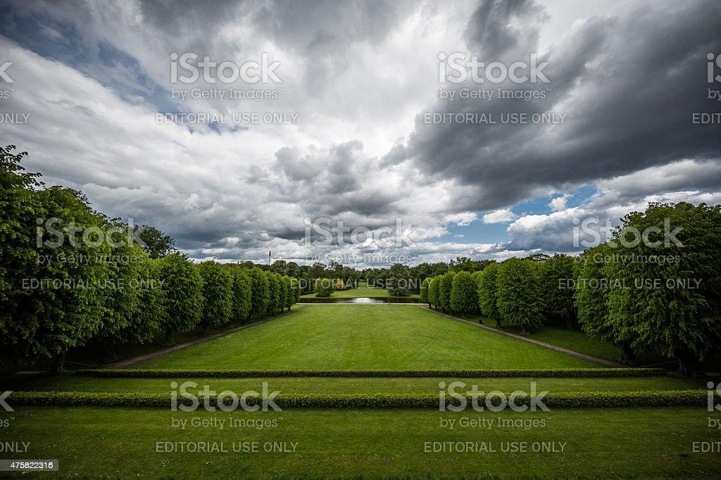 Frederiksberg Have - Garden - in Copenhagen, Denmark stock photo
