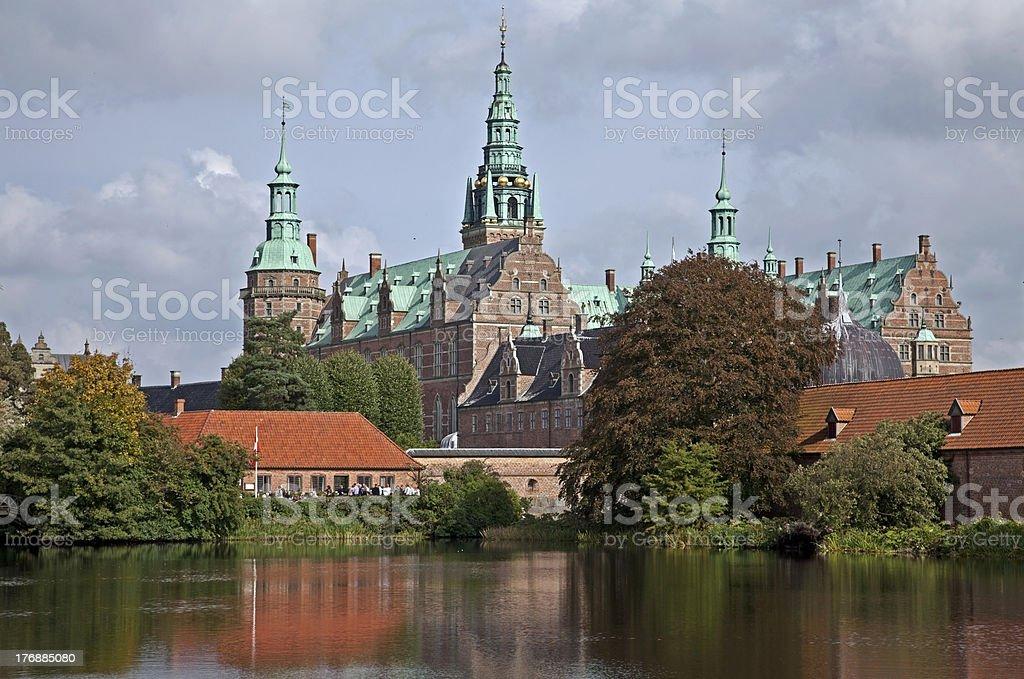 Frederiksbog Castle stock photo