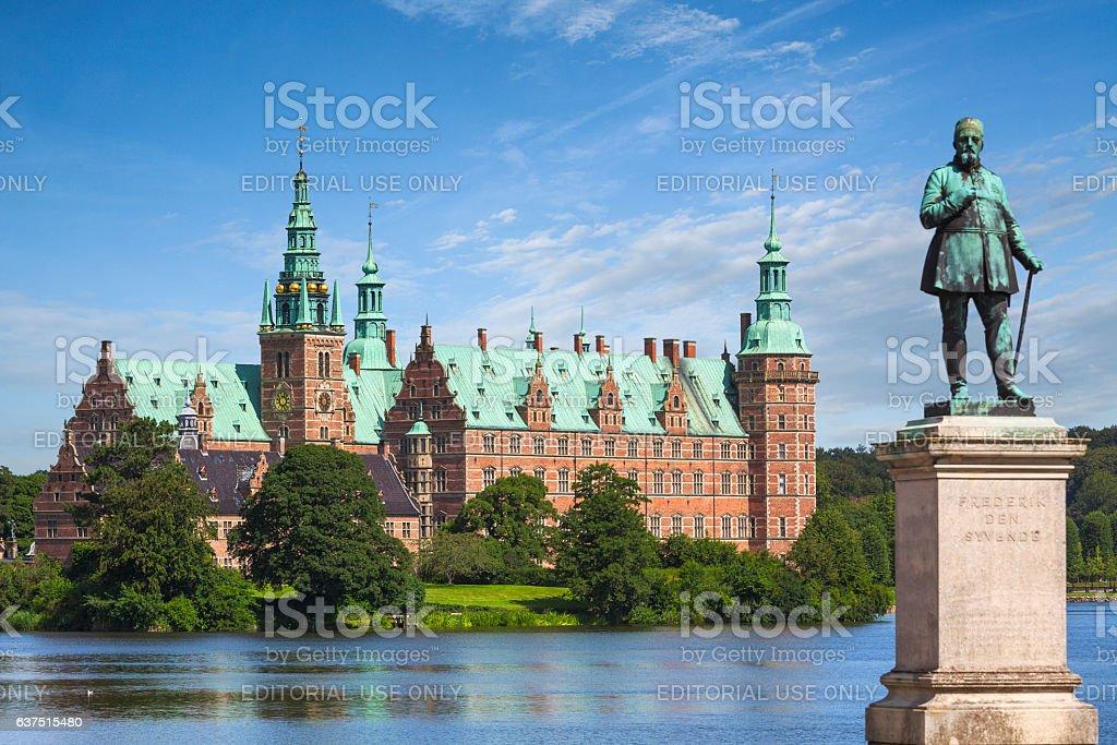 Frederiksborg Castle, Denmark stock photo