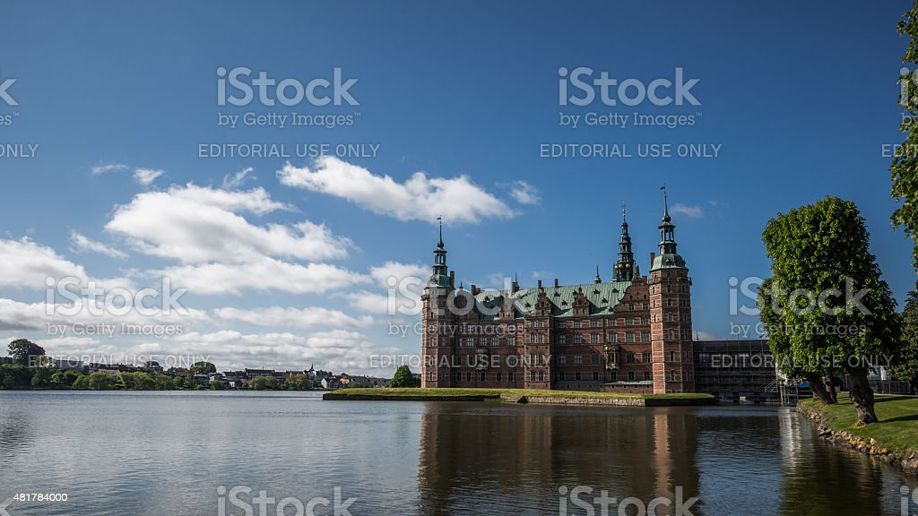 Frederiksborg Castle, Hillerød, Denmark stock photo