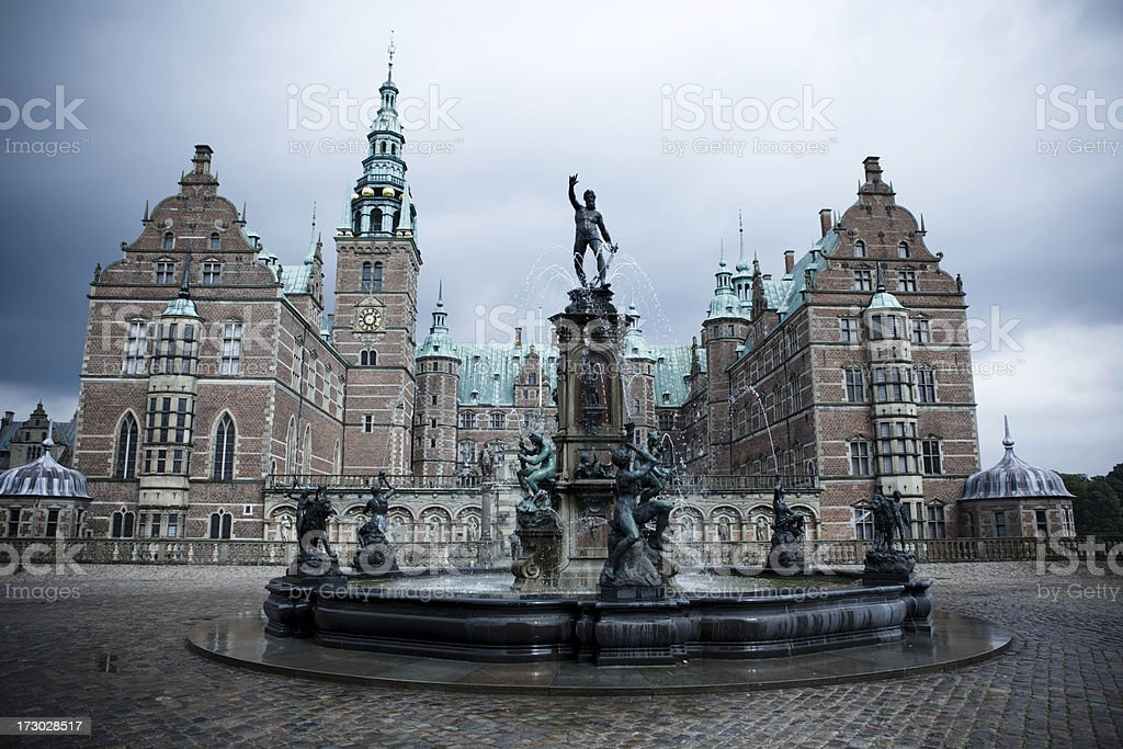 Frederiksborg Castle. royalty-free stock photo