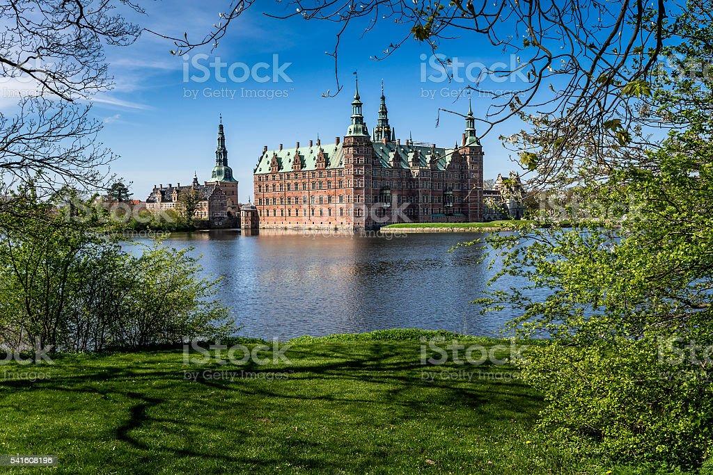 Frederiksborg Castle stock photo