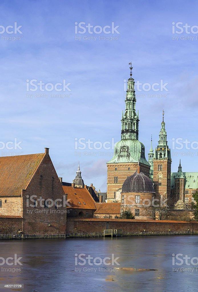 Frederiksborg, Denmark stock photo