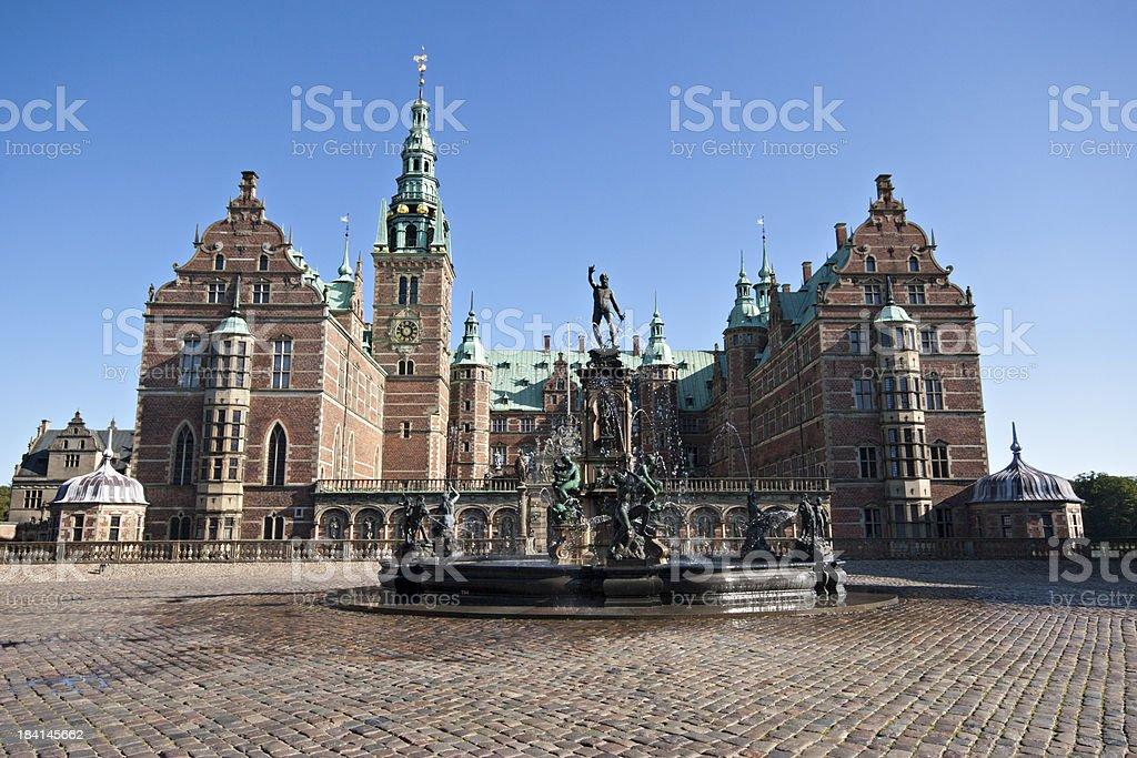 Frederiksborg Palace, Denmark stock photo