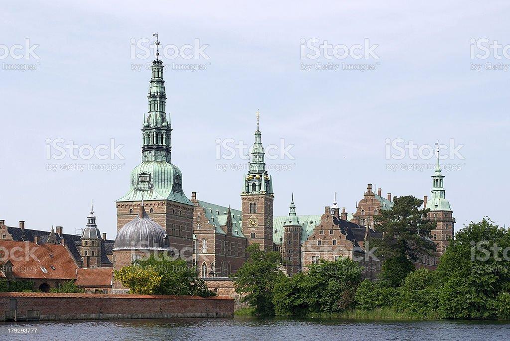Frederiksborg stock photo