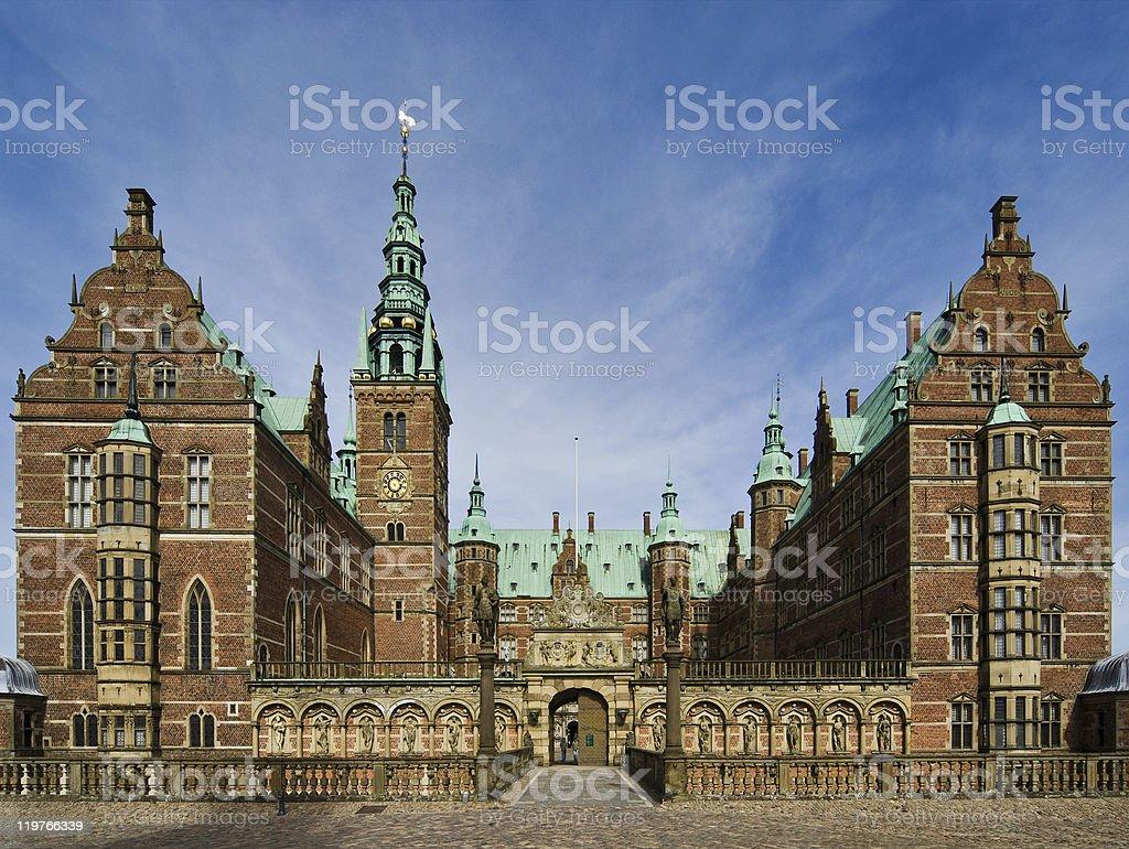Frederiksborg Slot stock photo
