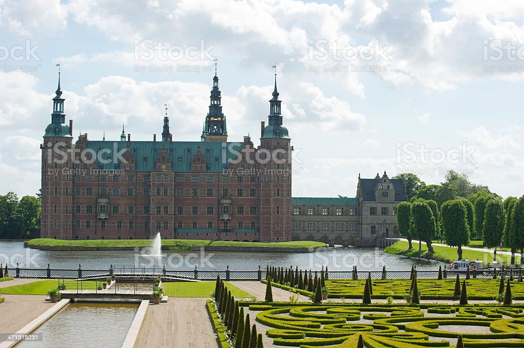 Frederiksborg Slot (Castle) stock photo