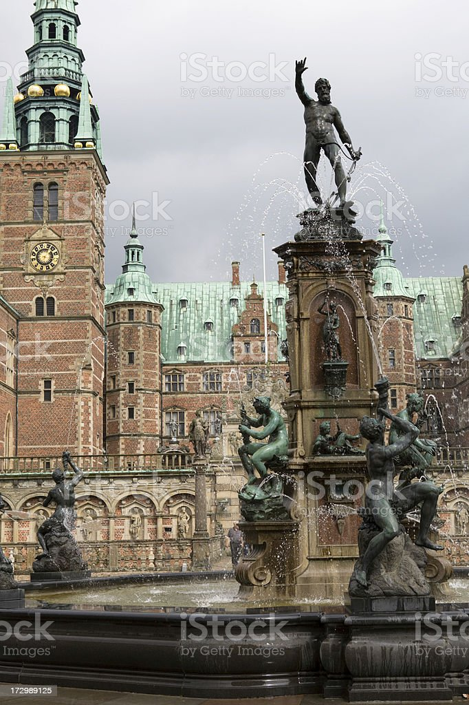 Fredriksborg Castle. stock photo