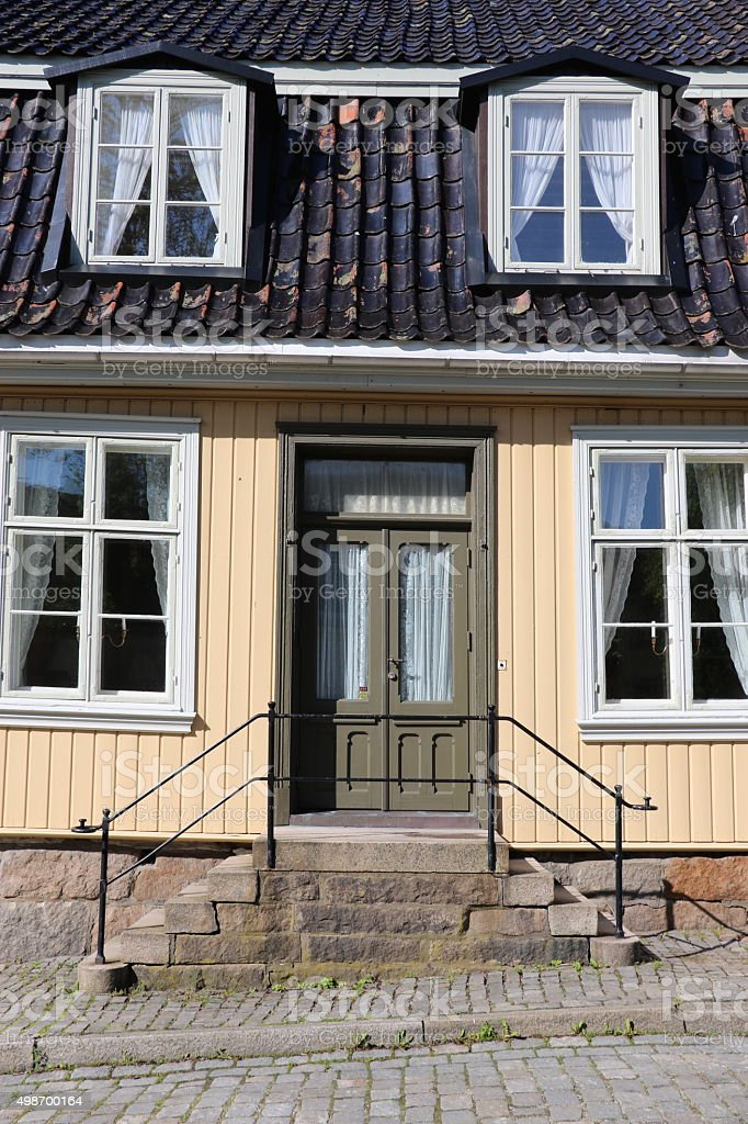 Fredrikstad stock photo