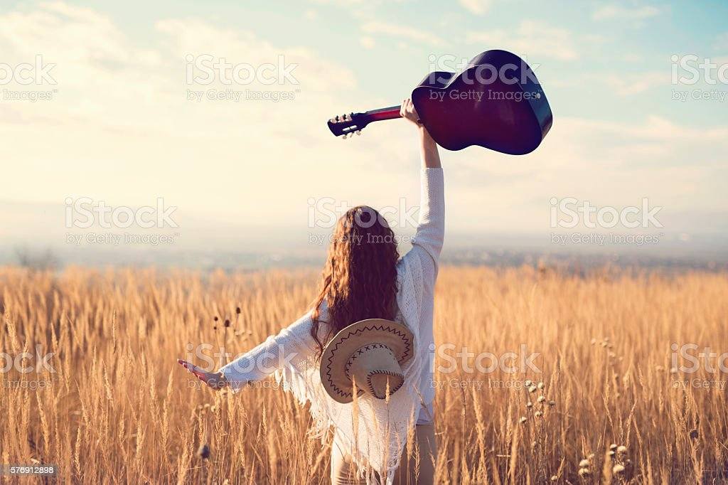 Free as my own music stock photo
