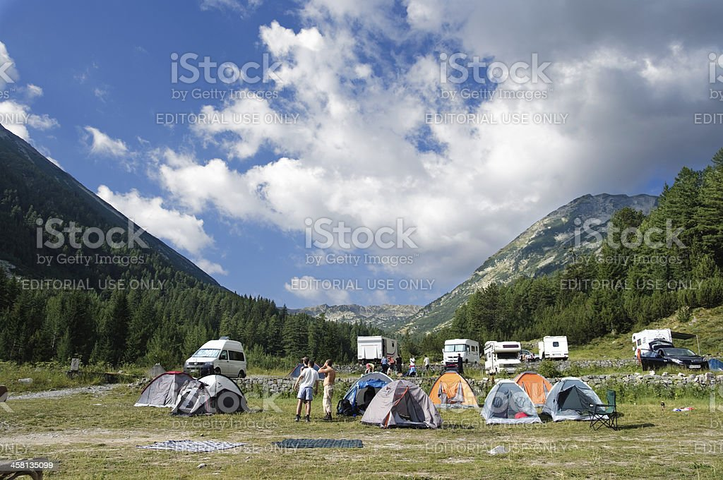 Free Camping stock photo