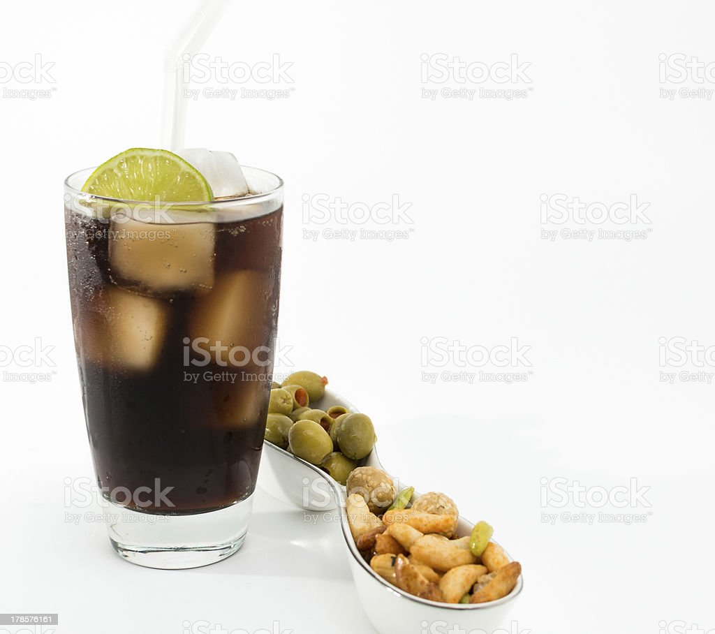 Cuba Libre royalty-free stock photo