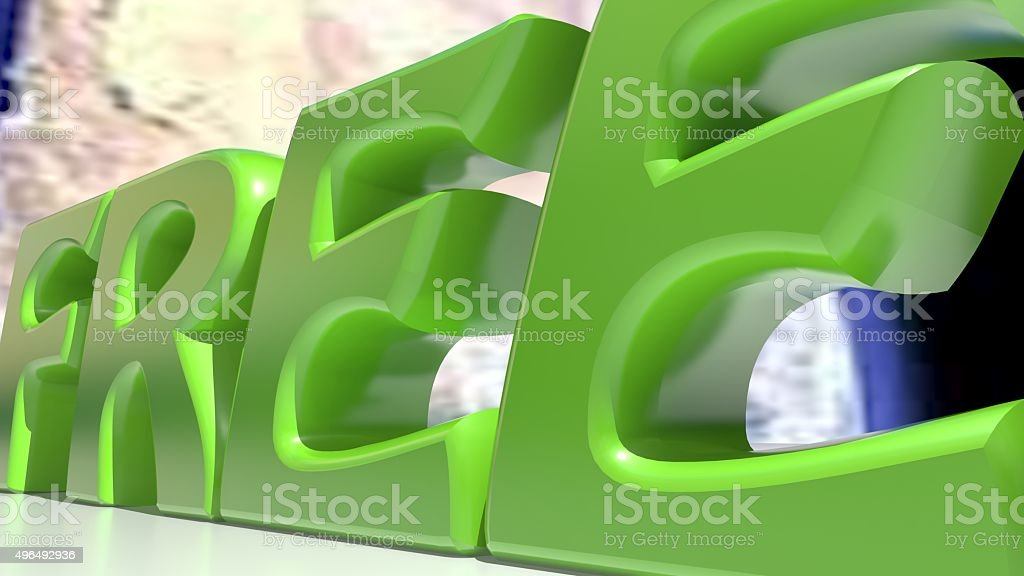 Free green stock photo