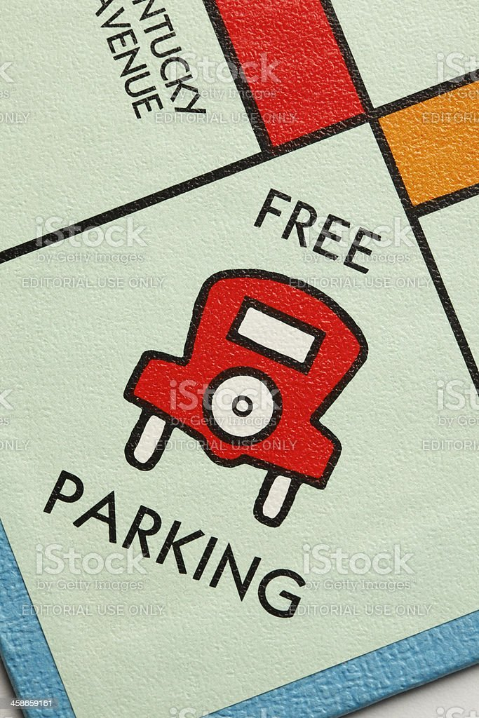 Free Parking stock photo