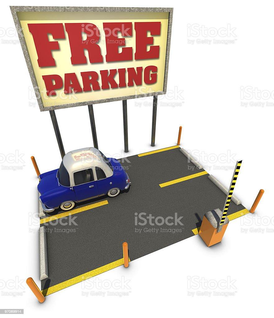 Free Parking stock photo