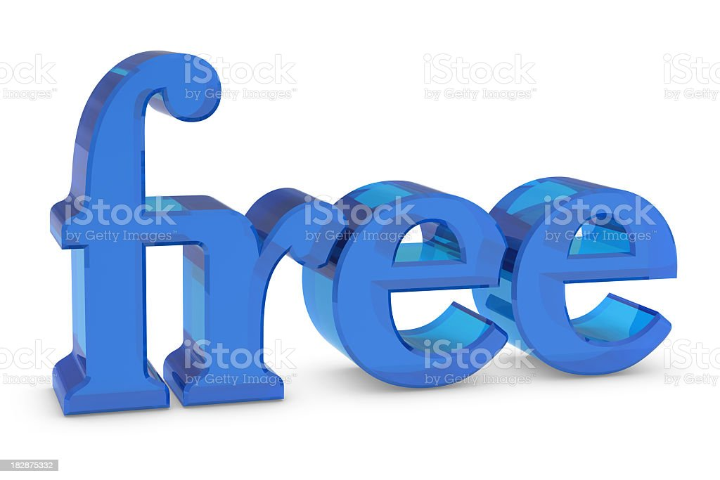 'Free' royalty-free stock photo