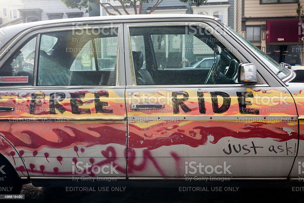 Free Ride Car stock photo