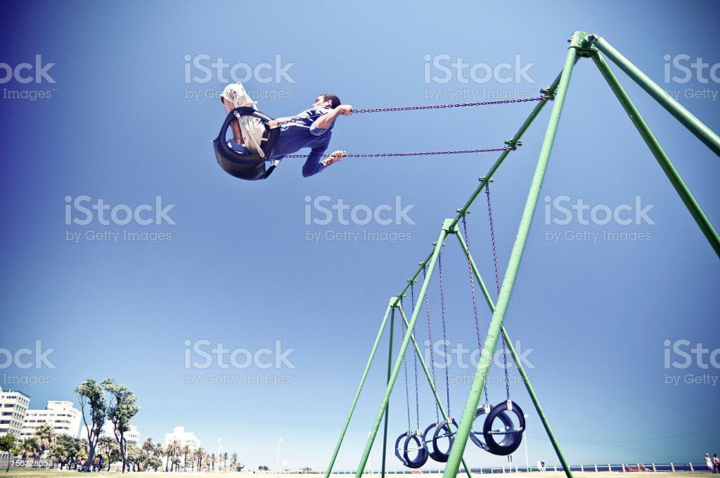 Free Running Parkour Cape Town royalty-free stock photo