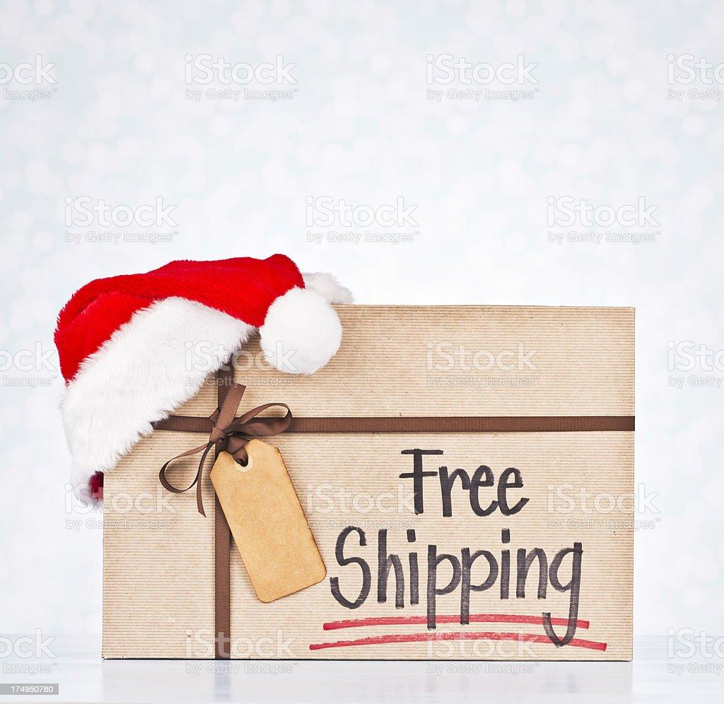 Free Shipping Promotion stock photo