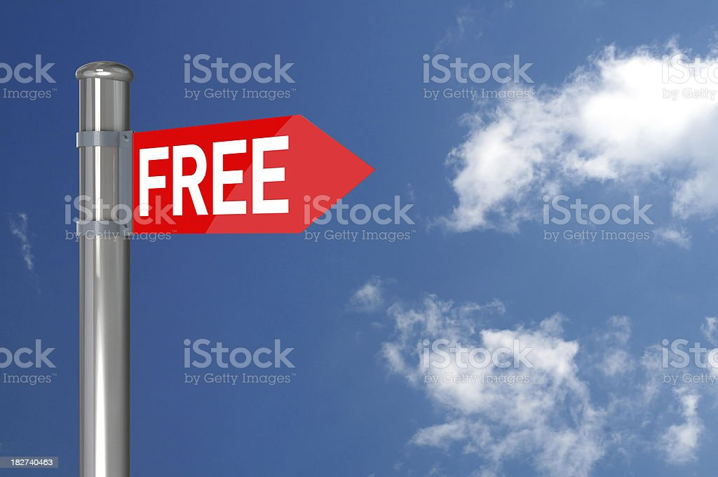Free Sign royalty-free stock photo