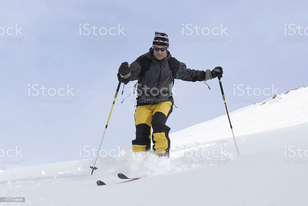 Free skiing in powder snowView other images with these models in my...