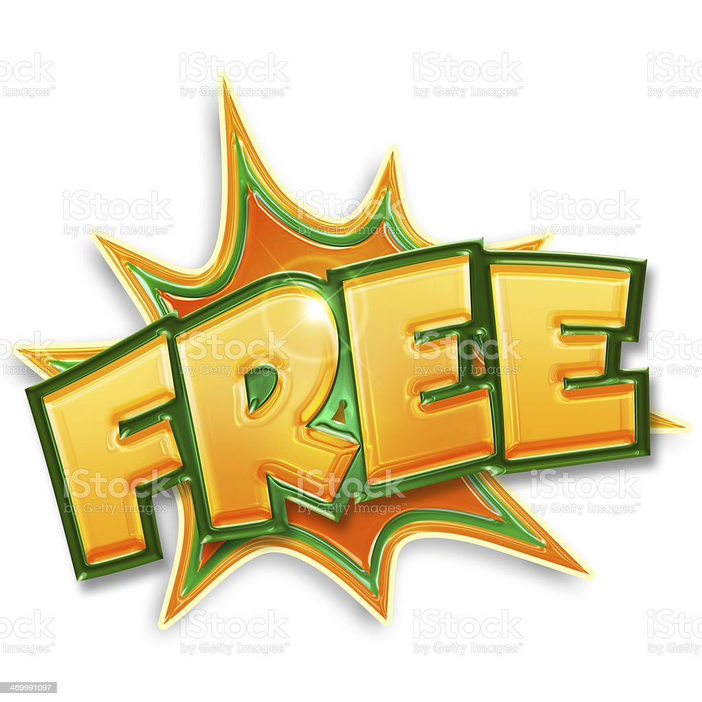 free tag stock photo