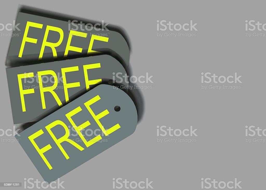 Free Tag stock photo