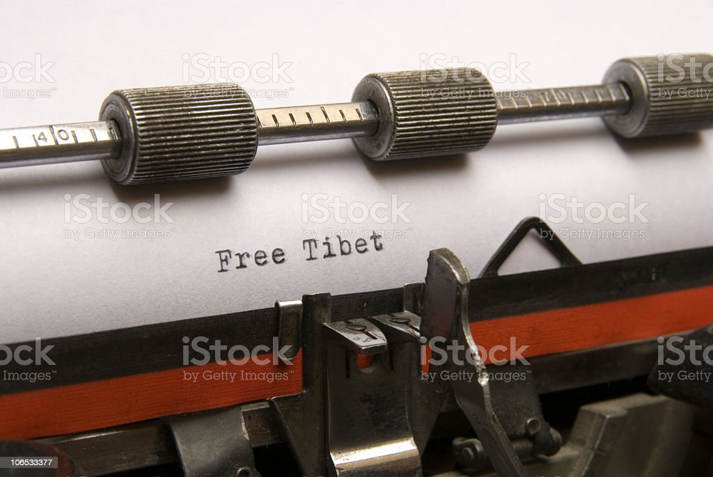 free tibet royalty-free stock photo