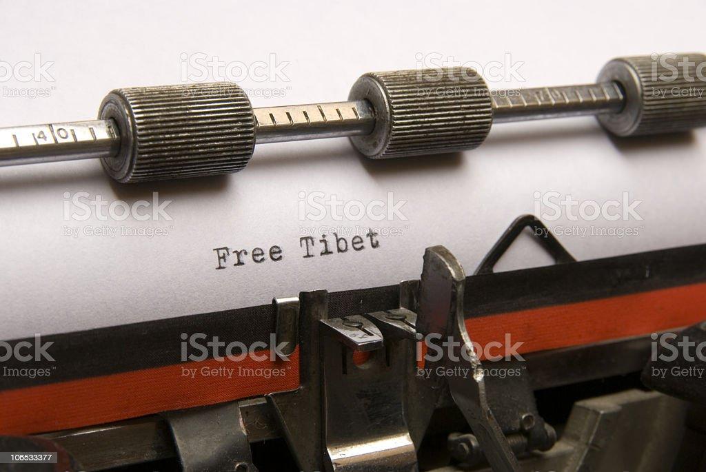 free tibet stock photo