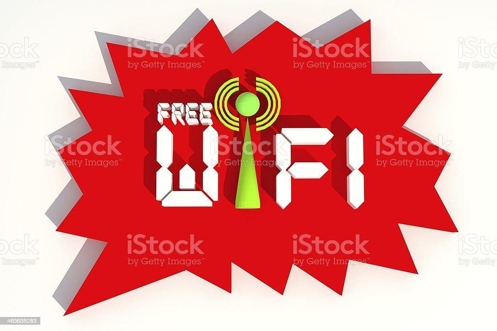 Free Wifi royalty-free stock photo