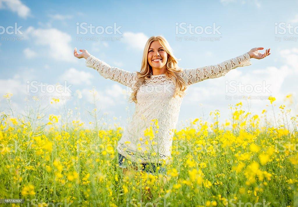 Free woman royalty-free stock photo