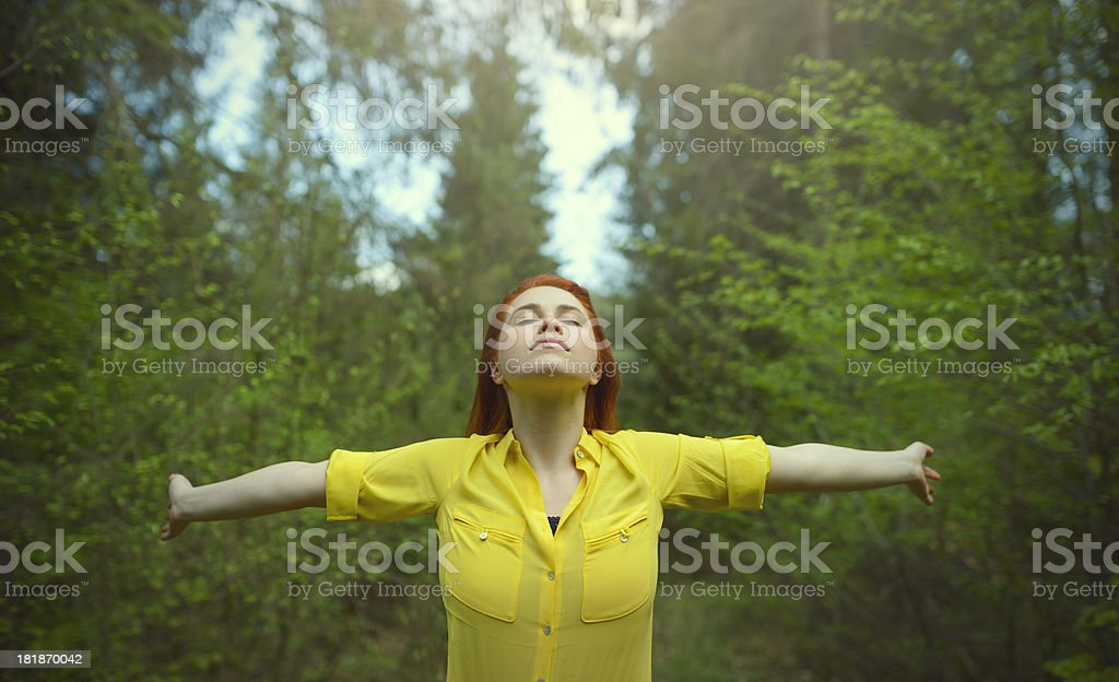 freedom and dreams royalty-free stock photo