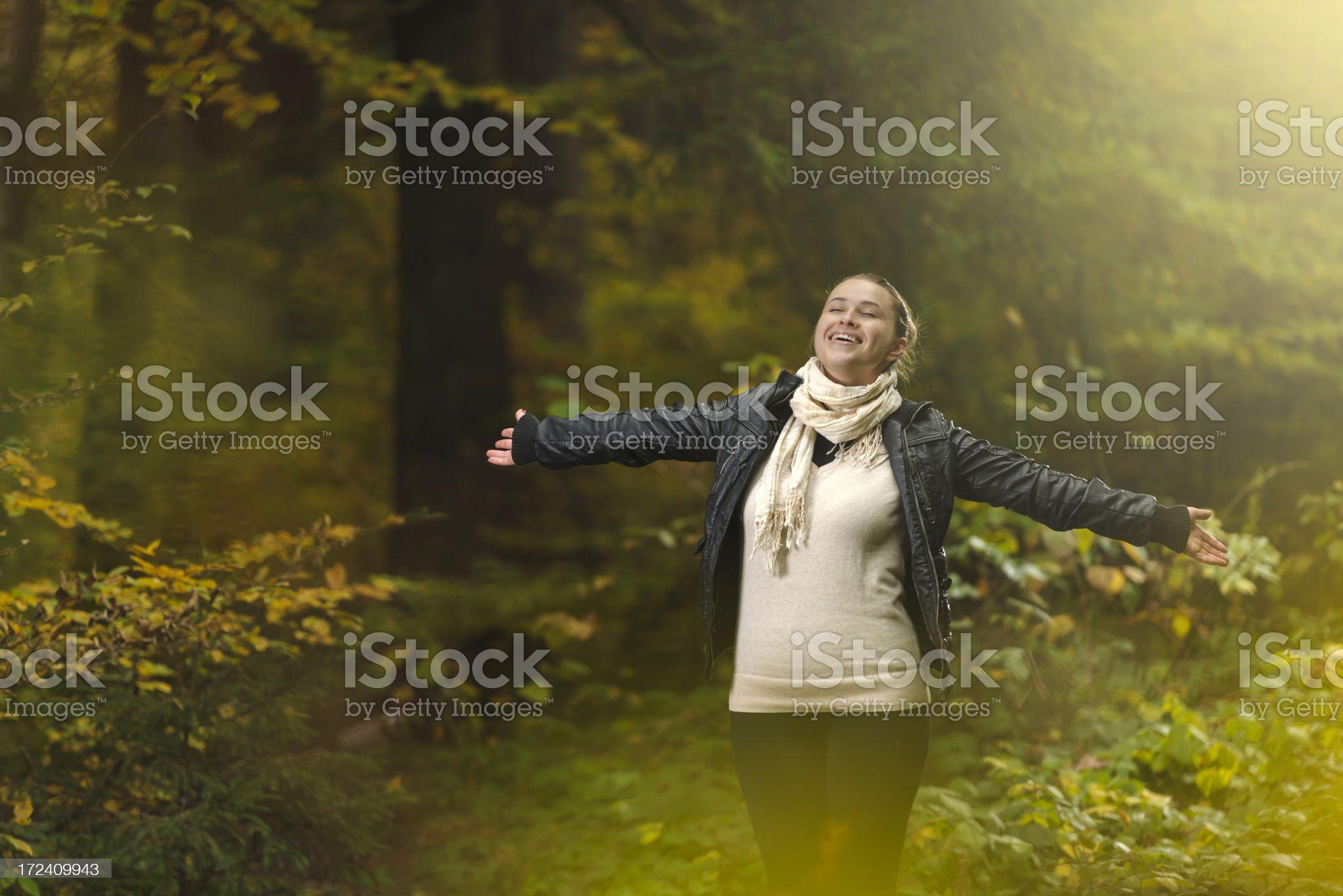 freedom and joy royalty-free stock photo