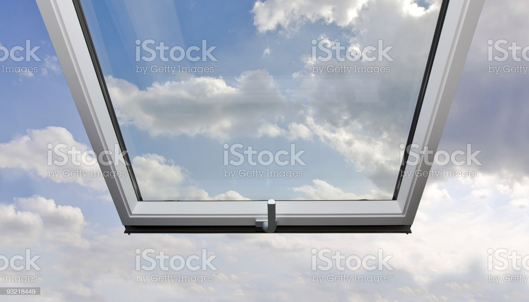 freedom and liberty - open roof top royalty-free stock photo