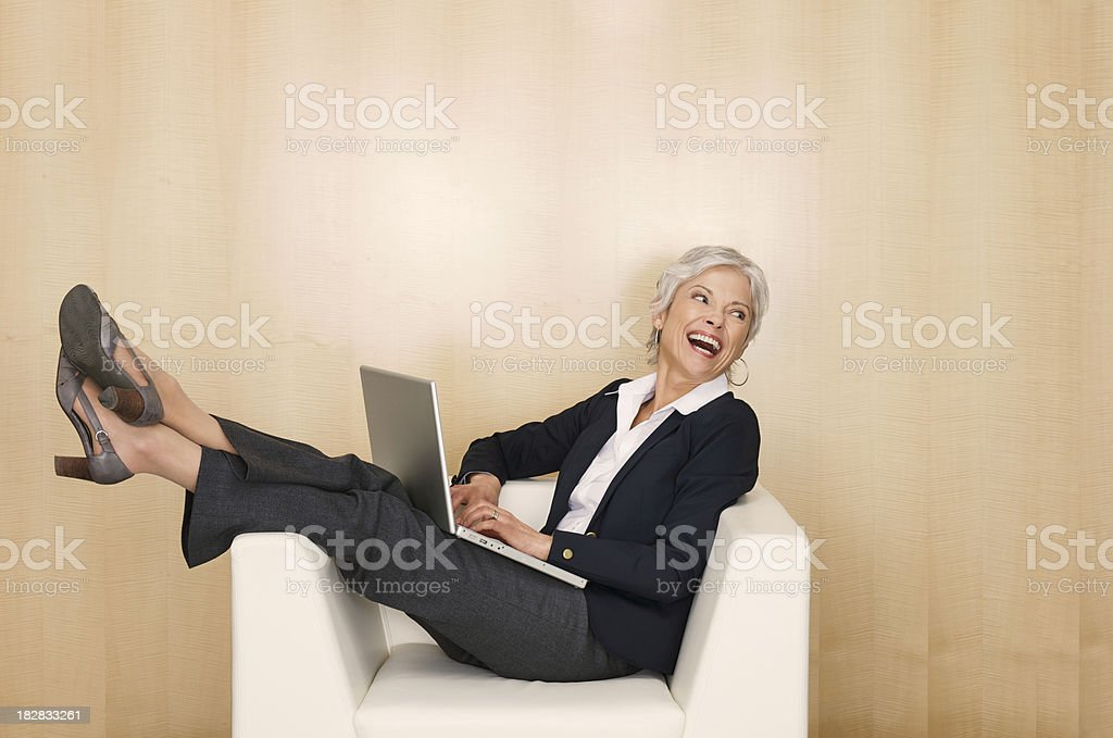 Freedom at work royalty-free stock photo