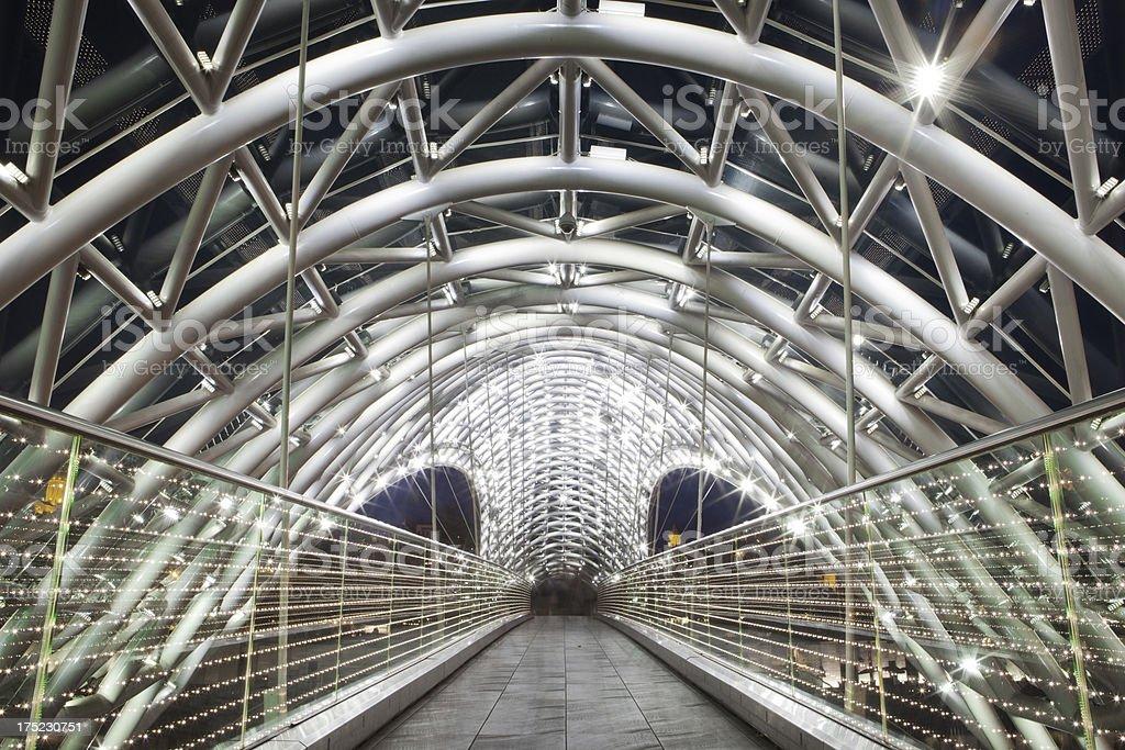 Freedom Bridge stock photo