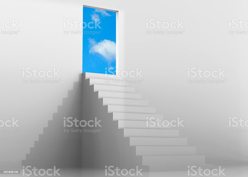 Freedom Concept - 3D stock photo