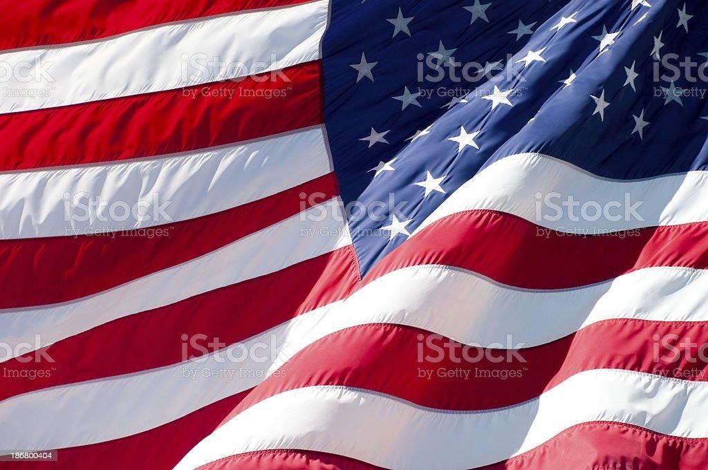 Freedom flag royalty-free stock photo