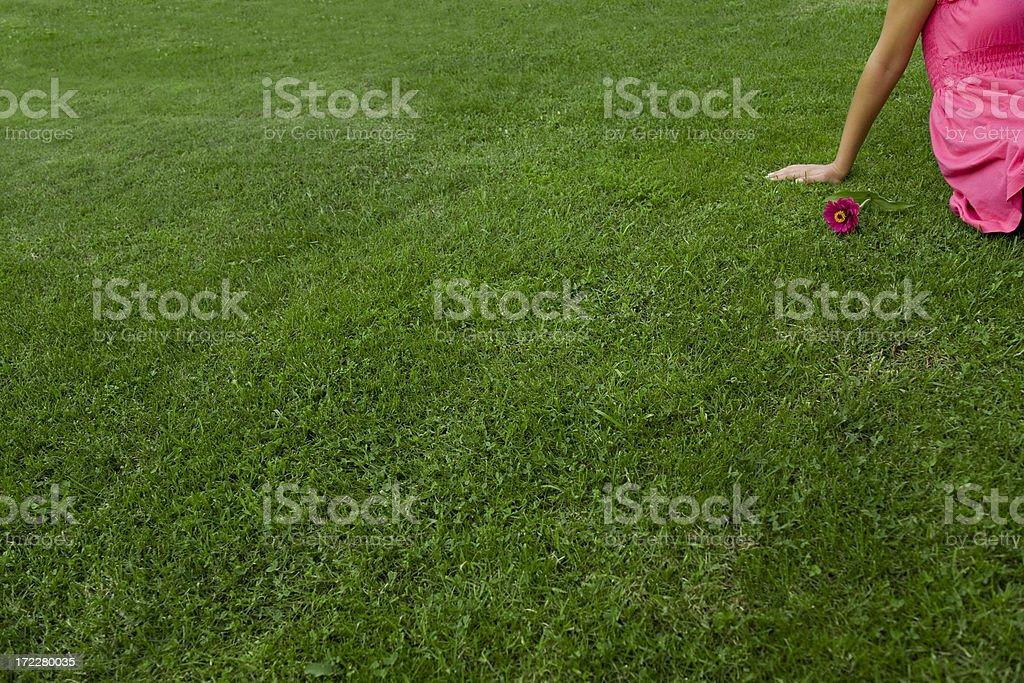 Freedom Girl royalty-free stock photo
