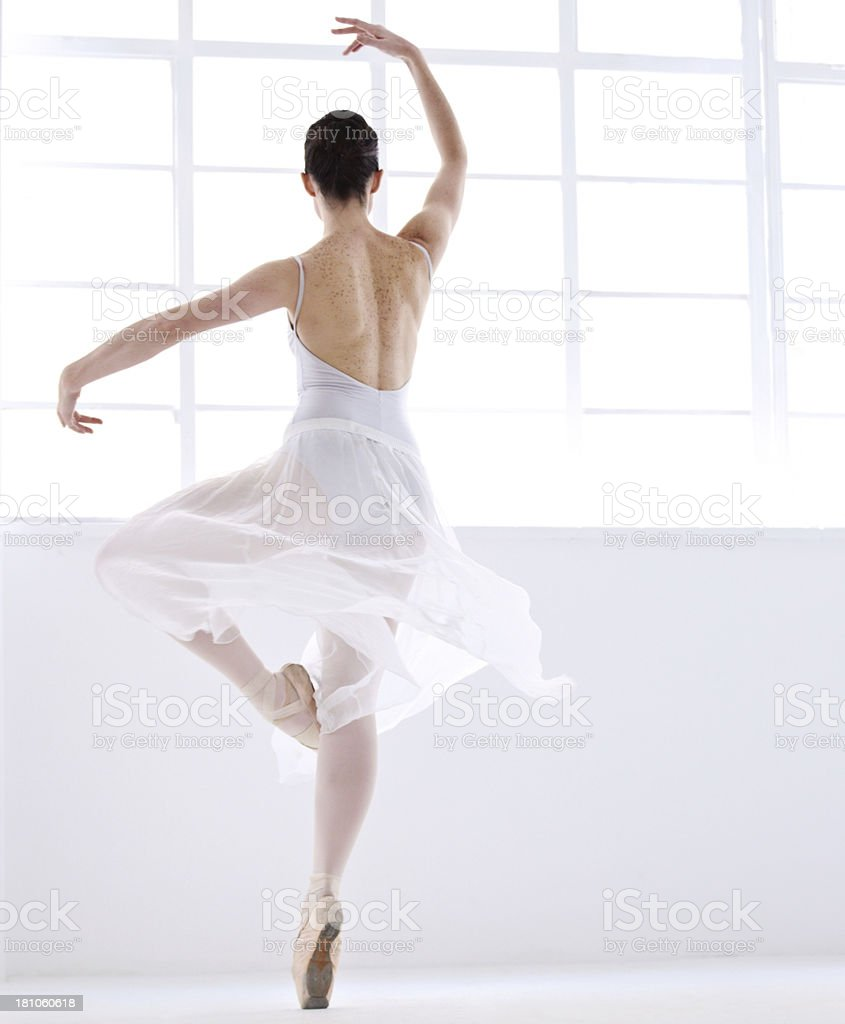 Freedom in dance royalty-free stock photo