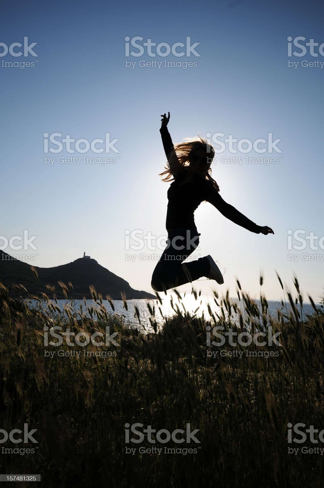 Freedom in nature royalty-free stock photo