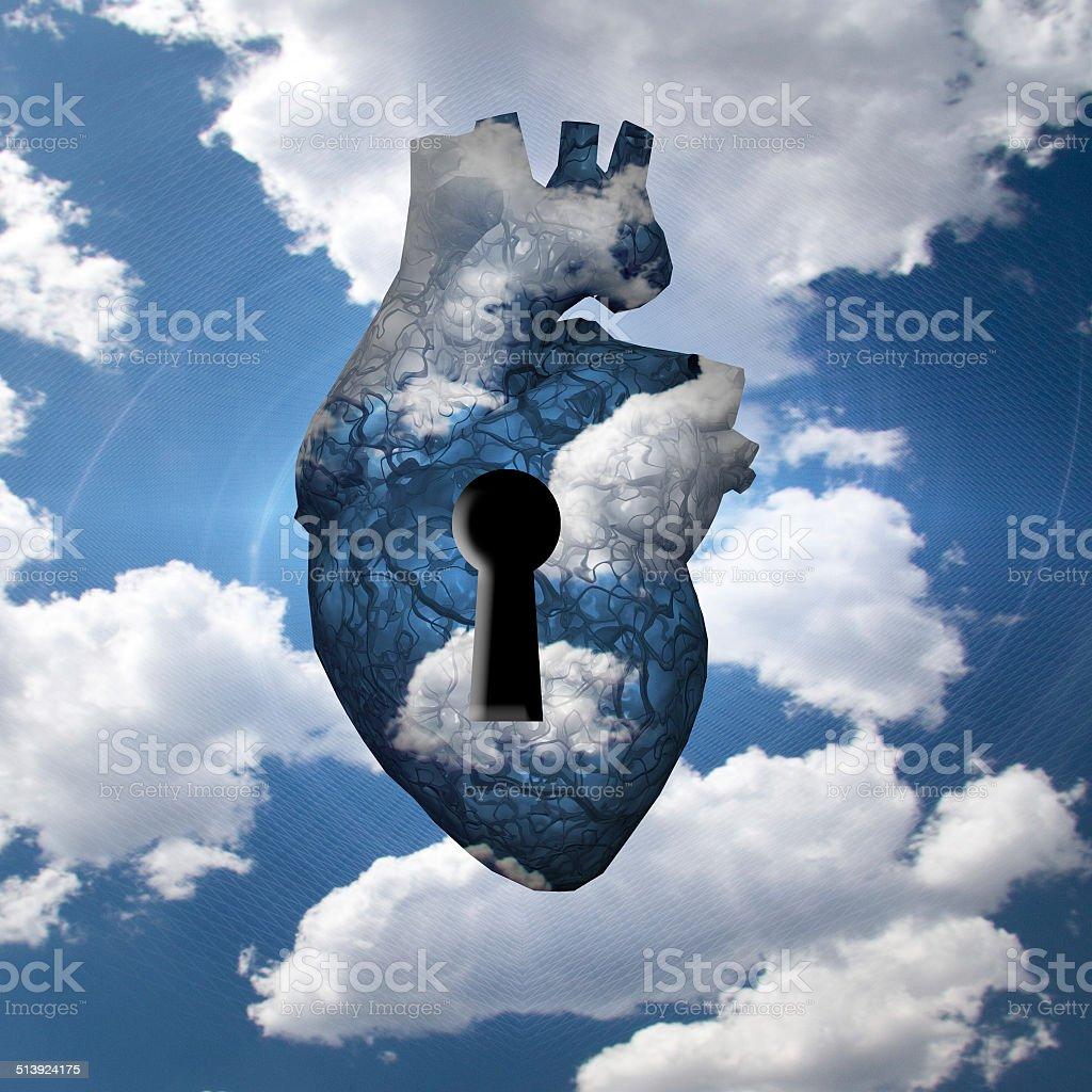 Freedom Key stock photo