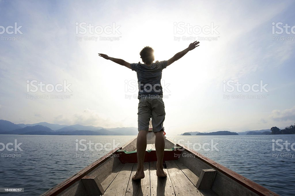 Freedom man royalty-free stock photo