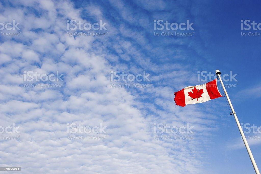 Freedom of Canada royalty-free stock photo