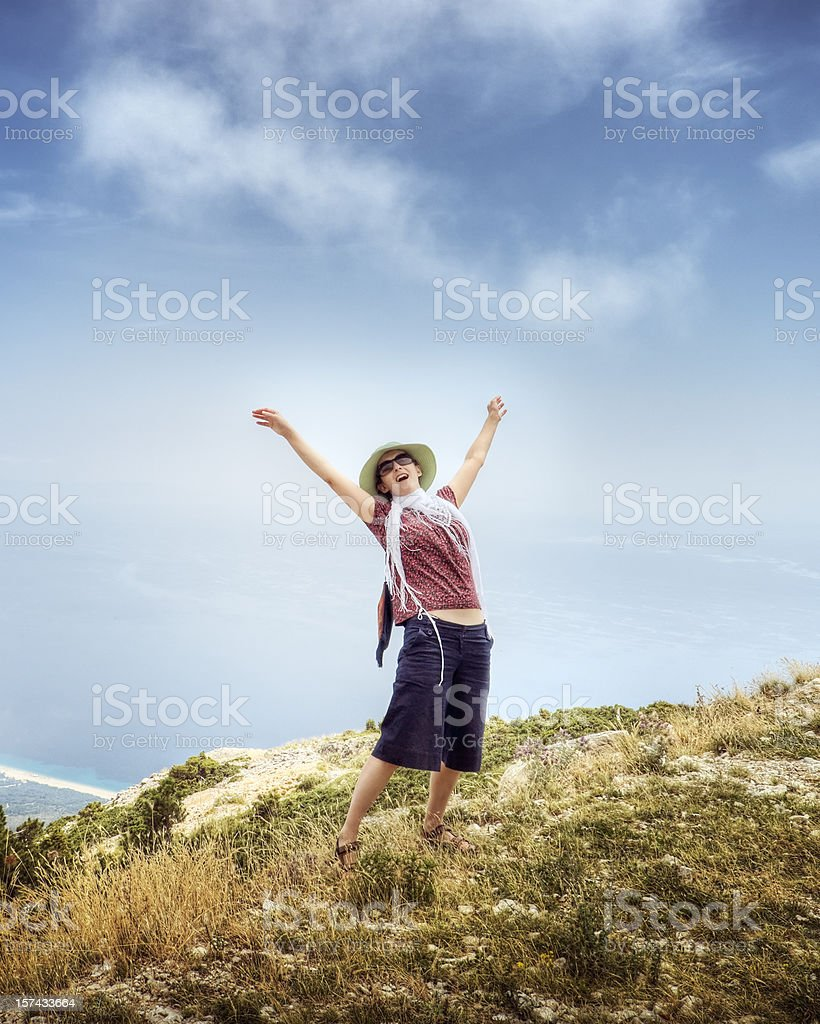 Freedom of Vacation royalty-free stock photo