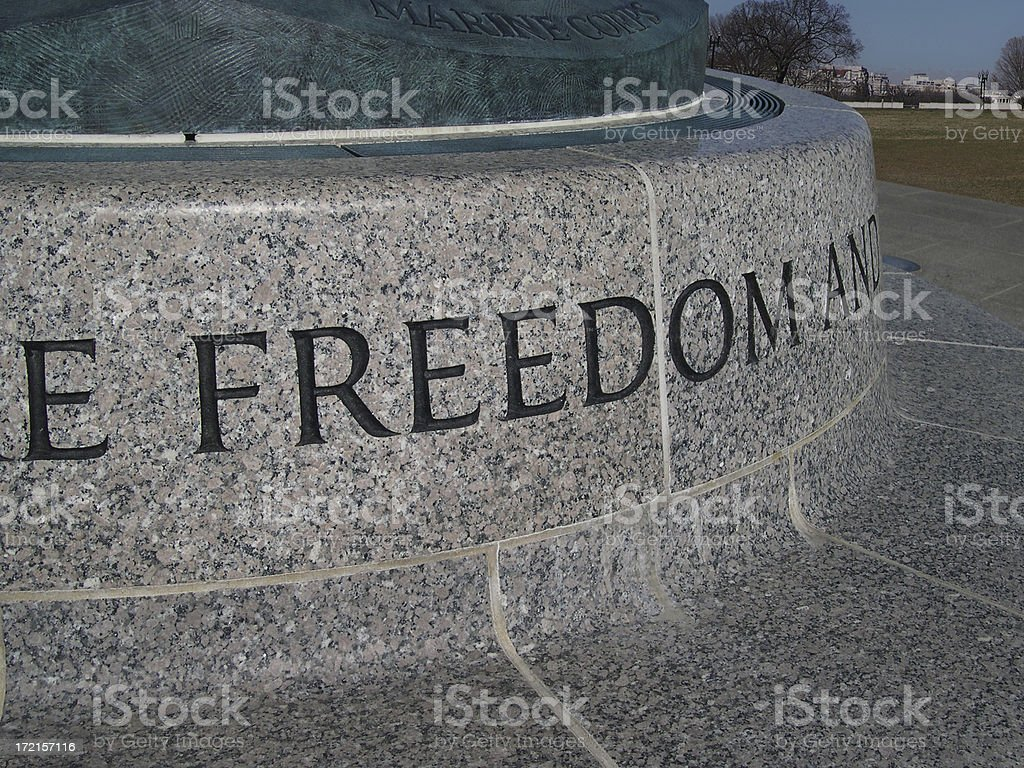 Freedom royalty-free stock photo