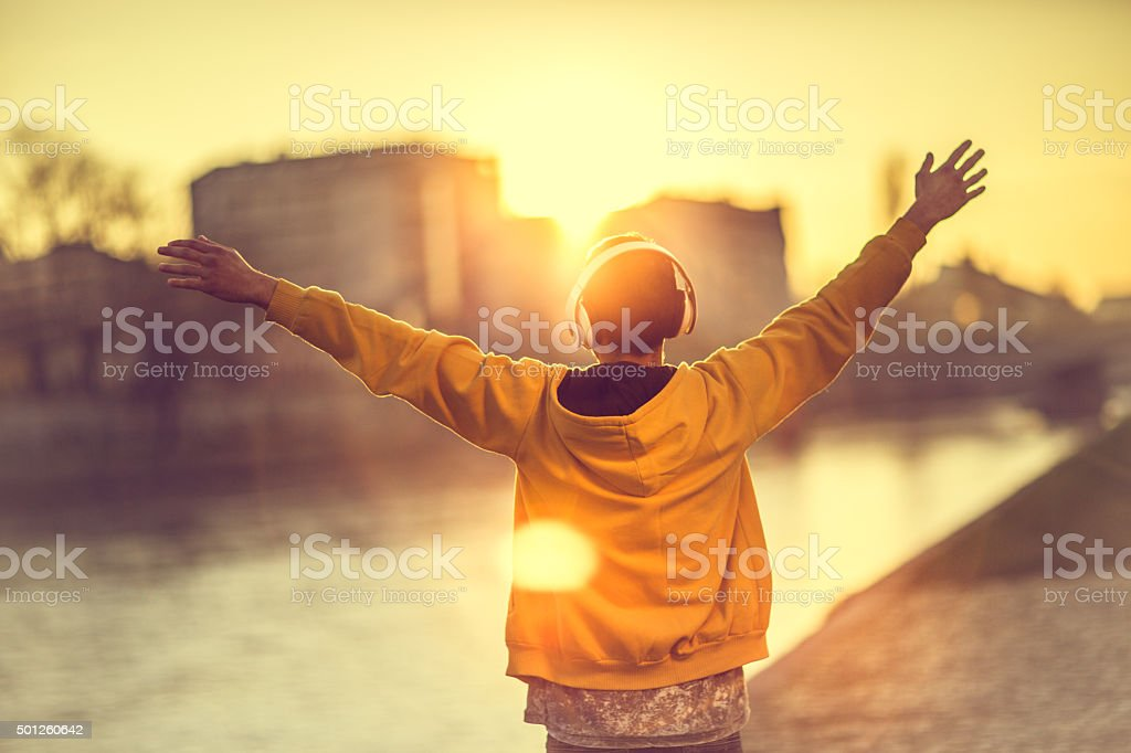 Freedom stock photo