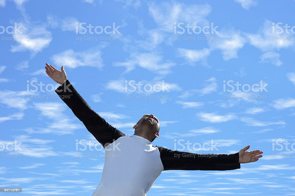 Freedom(I love this life!) stock photo