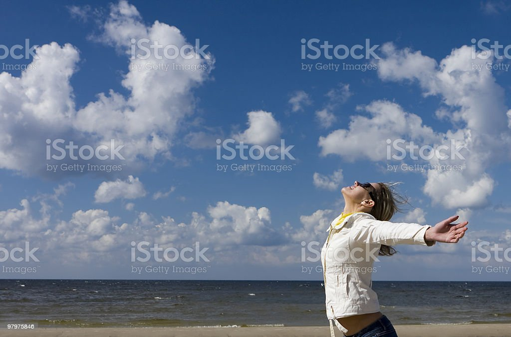 Freedom to be stock photo